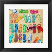Framed Flip Flops I