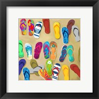 Framed Flip Flops II - Mini