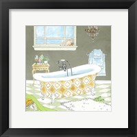 Framed Gold Bath II - Mini