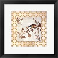 Framed Audubon Tile I - Mini
