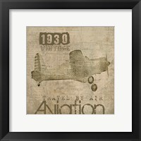 Framed Aviation I - Mini