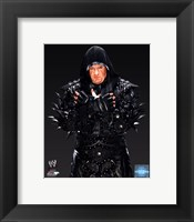 Framed Undertaker 2013 black background