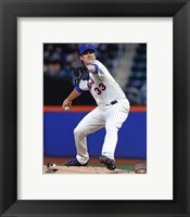 Framed Matt Harvey pitching 2013