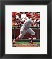 Framed Yadier Molina on Field2013