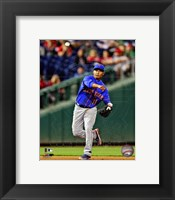 Framed Ruben Tejada 2013 in action