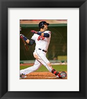 Framed Nick Swisher in Action 2013