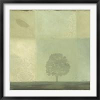 Framed Blue Horizon 2