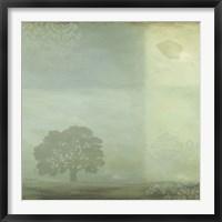 Framed Blue Horizon 1