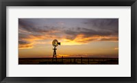 Framed Plains Windmill