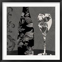 Framed Vin Elegant II
