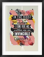 Framed Invincible Summer