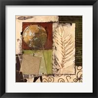 Framed Winter Memento II