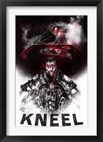 Framed Man of Steel - Zod