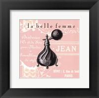 Framed La Belle Femme III