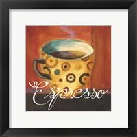 Framed Espresso Dots