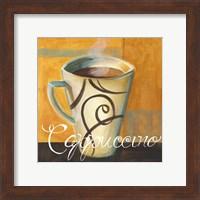 Framed Cappucino Swirls