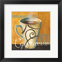 Framed Cappucino Swirls