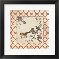 Framed Audubon Tile IV - Mini