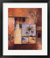 Framed Palm Serenity I