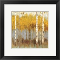 Framed Golden Grove I - Mini