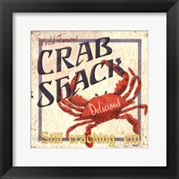 Framed Crab Shack