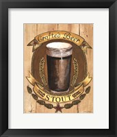 Crafted Beer Framed Print