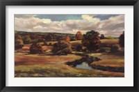 Northern Valley I Framed Print