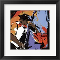 Framed Jazz Man - mini