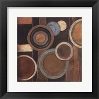 Framed Abstract Circles I