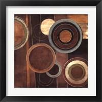 Framed Abstract Circles II