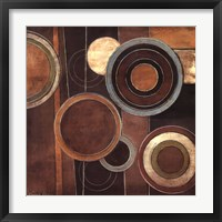 Framed Abstract Circles II