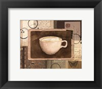 Framed Vintage Cappuccino - mini