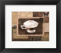Framed Vintage Eiskaffee - mini