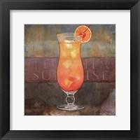 Framed Tequila Sunrise