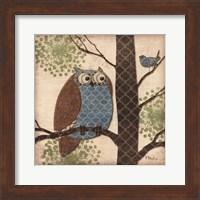 Framed Fantasy Owls II