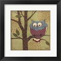 Framed Fantasy Owls III