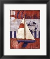 Framed Maritime Boat I