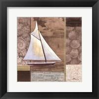 Framed Santa Rosa Boat II
