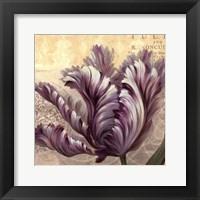 Framed Purple Garden II - mini