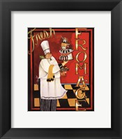 Fromage - mini Framed Print