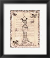 Framed Wire Dress I - mini