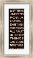 Framed Everything Happens