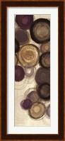 Framed Purple Whimsy Panel I
