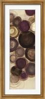 Framed Purple Whimsy Panel III