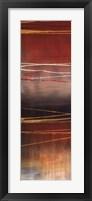 Framed Gold Rush Panel I