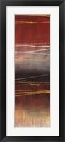 Framed Gold Rush Panel II