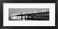 Framed Pier Night Panorama I - mini