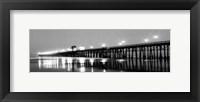 Framed Pier Night Panorama I - mini
