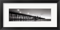 Framed Pier Night Panorama II - mini