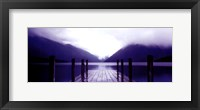Framed Serene Dock I